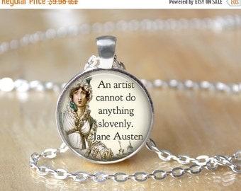 Pride and Prejudice Book Necklace - Jane Austen Necklace L58