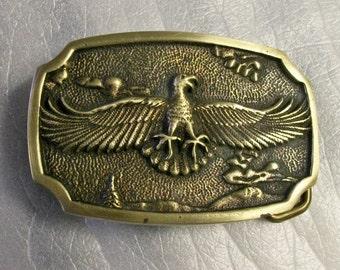 Eagle BTS Belt Buckle Solid Brass