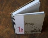 """Recycled Journal Tartuensis College """"Lenin"""", Old Book Notebook"""