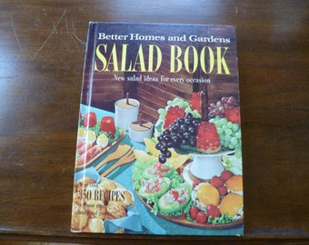 Salad Recipe Book, Better Homes and Gardens, Vintage Cook Book, 1967