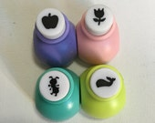 A Set of a Mini Paper Punch (Pick 1) - Apple, Flower, Ant,  Or Whale