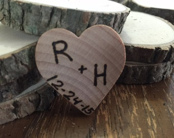 75 Rustic wedding favor magnets barn wedding country favors true love bridal shower favors