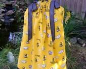 Featuring Georgia Tech Yellow Jackets Pillowcase Dress :TD016