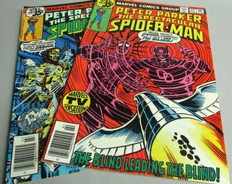 Peter Parker The Spectacular Spider-Man No. 27 or No. 28, February or March 1979, Marvel Comics