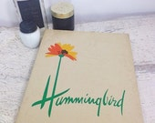ON SALE 3 Pair Vintage NOS Hummingbird Nylon Stockings