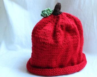 Apple Hat (Childrens size)
