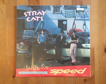 """STRAY CATS – Built For Speed (1982) Vintage Vinyl 12"""" SEALED"""