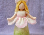 Fairy Waldorf inspired needle felted: Early Spring