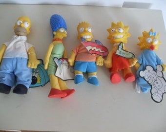 The Simpsons, Burger King Toys,Dolls,Plush