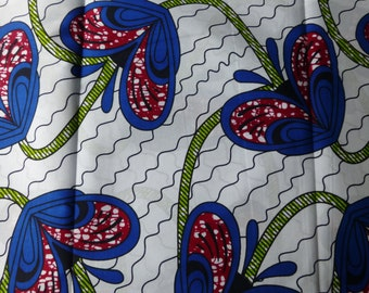 African Fabrics Block Wax Print For Dressmaking Sold By The Yard 162134146203