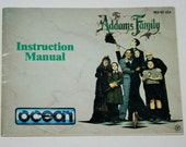 Addams Family Nintendo NES - Instruction Manual Only