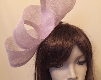 Fascinator Hat Lilac Lavender Hatinator, perfect for the races or a wedding