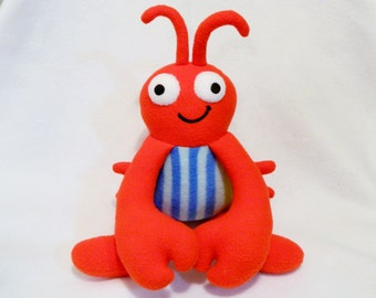 Plush lobster toy