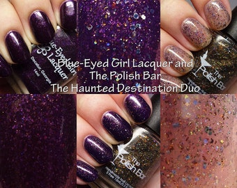 Destination Polish Collaboration - Haunted Mansion Duo with Blued Eyed Girl Lacquer