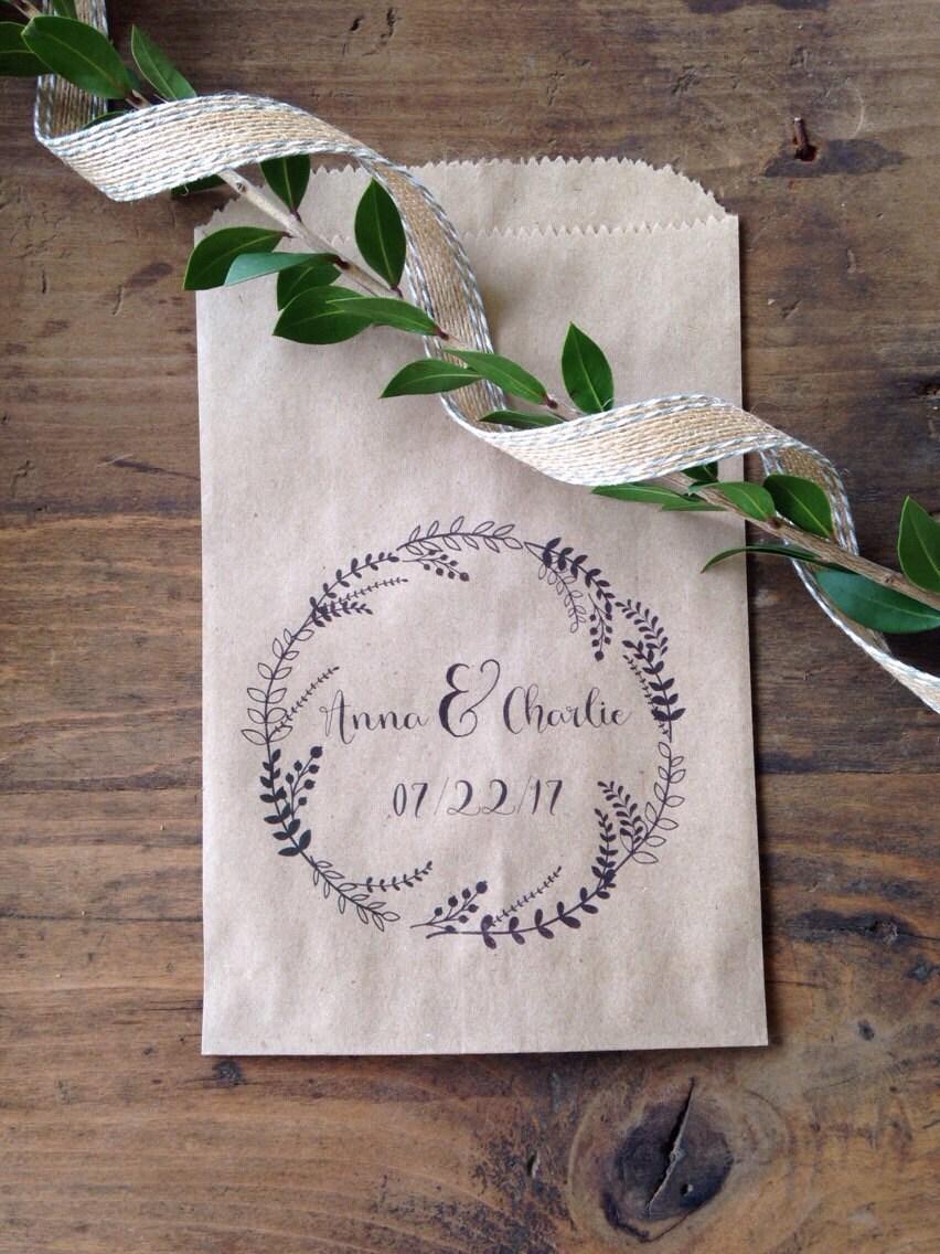 Wedding Favor Bags For Cookies : Wedding Favors Wedding Favor Bags Cookie Buffet Bags Candy