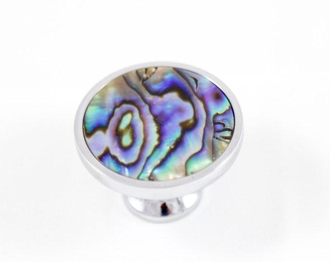 Mermaid Knob--Abalone--Abalone Knob--Abalone Drawer Knob