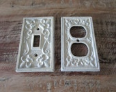 Cast Iron Shabby Chic Wall Plates - Light Switch Outlet Cover - [Stag]