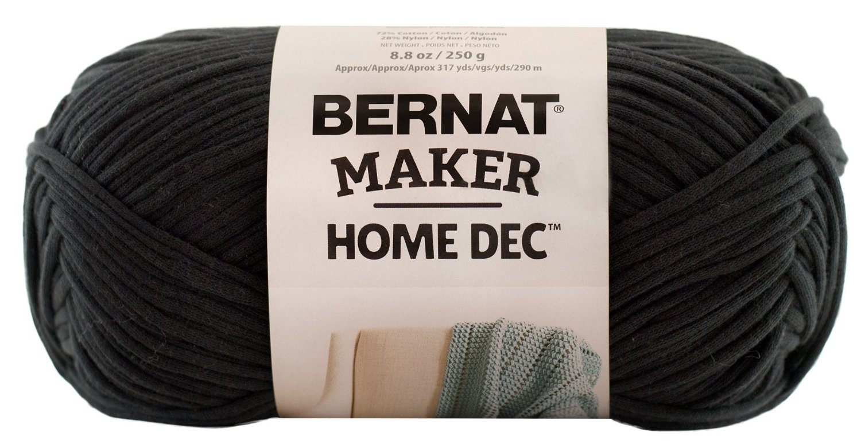 Bernat Maker Home Dec Yarn In Black