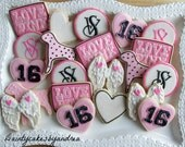 50 NASA themed cookies for Sweet 16