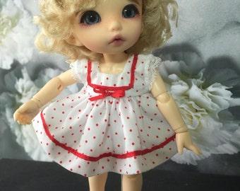 Dress AND pants forBJD Pukifee, Lati yellow or similar doll