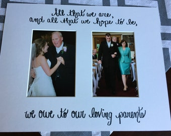 Wedding Rehearsal Gifts For Parents : wedding gift for parents; christmas gift for mom or dad or in-laws ...