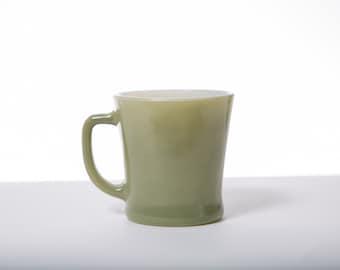 Fire King Mug Jadeite-Style Mid Century Drinkware Retro 1950s
