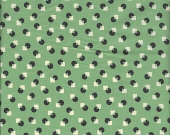 Small Dots and Squares  (Color D) by Suzuko Koseki for Yuwa of Japan
