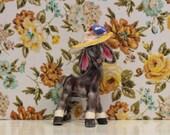 Vintage Kitsch China Donkey Kawaii
