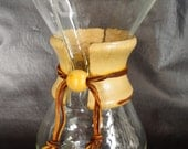 Vintage Chemex Coffeemaker Glass Model 2-6 cups Mid Century