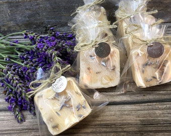 Unique Bridal Shower Favors, Soap Wedding Favors, Bachelorette Party Favors, Lavender Milk Soap Favors 130