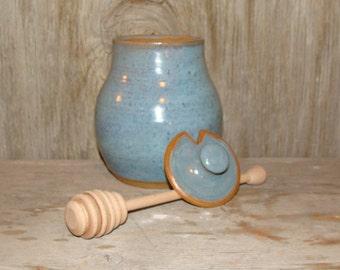 Opal Blue Honey Pot