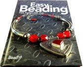 Easy Beading Book, Designing Jewelry, Craft Manual, Hardback, Jewelry Making, Beadwork