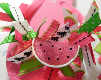 PINK WATERMELON---GIRLS Flip Flops