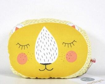 Animal pillow lion mini