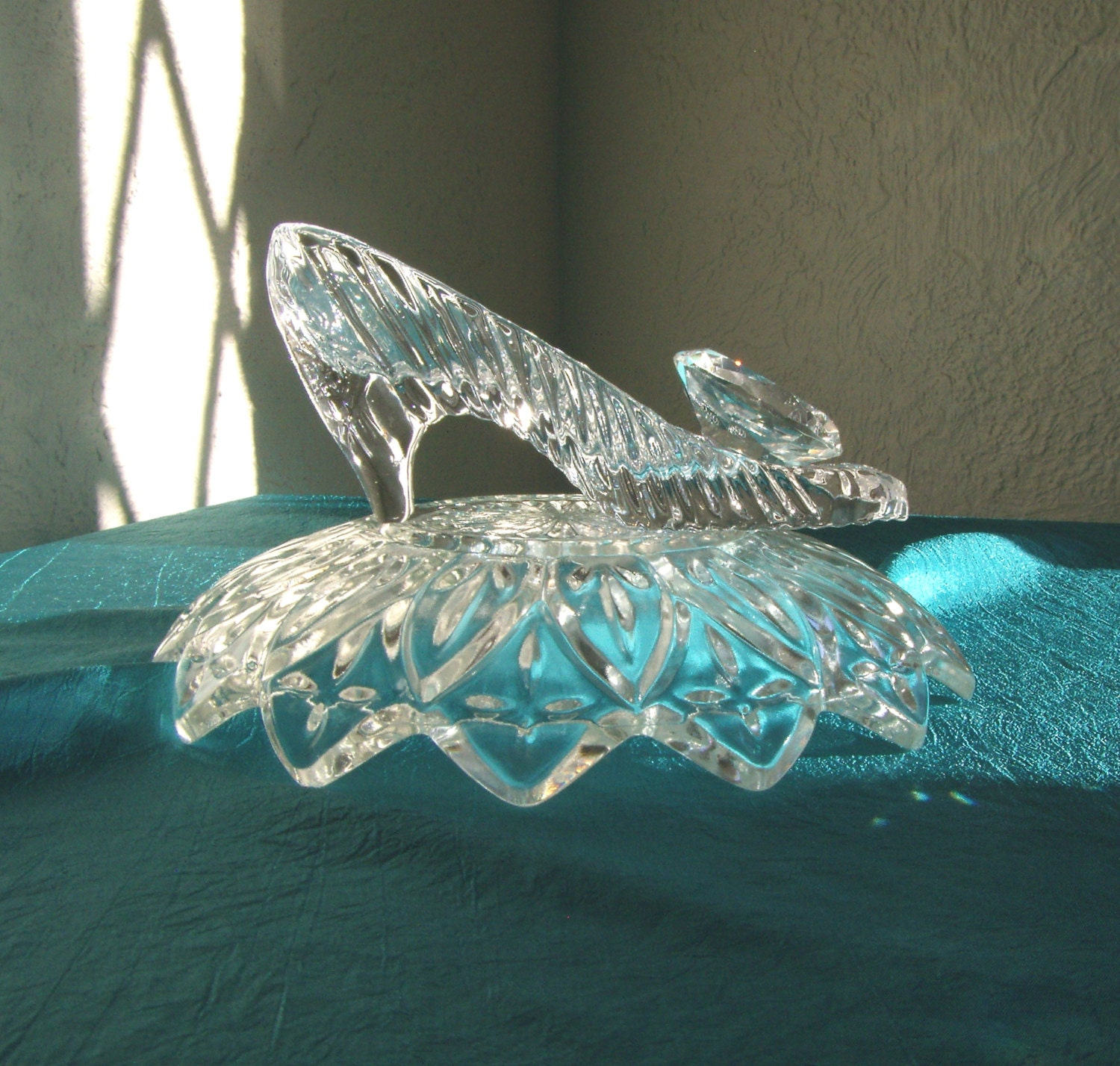 Princess Wedding Cinderella Glass Slipper with Oleg Cassini