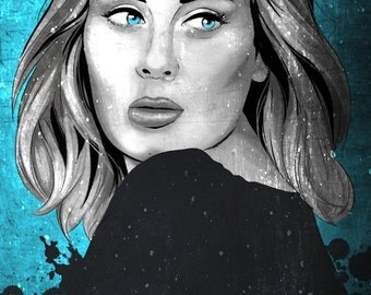 30% OFF WOW 50 Percent OFF Wow Adele Musician Poster