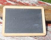 Student Slate Chalk Board Double sided chalkboard slate homeschool photography prop 10 available