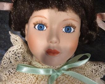 Seymour Mann Porcelain Doll WHITNEY Connoisseur Collection