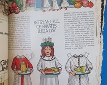 Betsy McCall Paper Dolls 1971-1974 A Treasury of a Little Girls Collection 24 pages One Owner