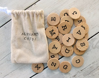 RTS Magnetic Alphabet Chips