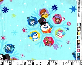 1 yard, Frosty the Snowman VIP Character Snowflake