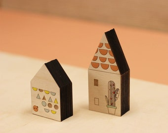 Wooden House - Mews - House Series