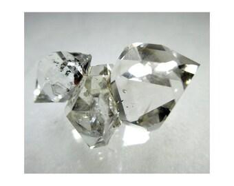 9.9 Gram Herkimer Diamond Crystal Cluster - ww952