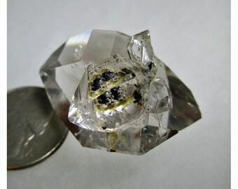 24.3 Gram Herkimer Diamond Crystal Cluster - ww719