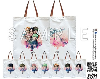 BTS Bangtan Boys In the Mood For Love Pt2 Tote Bag