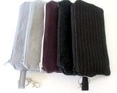 Insulated EpiPen Case,  Made with Up-cycled fabrics,  Auvi Q Case, Insulin Pen Case, Medicine Bag, Epi Pen Holder, Epi Pen Bag
