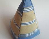 Sandy Beach Stripes, fabric doorstop, easy to wash, door stopper