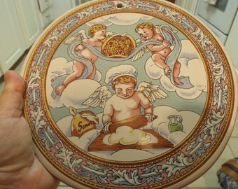 Angels Sweet Italian Cherub Plaque With Flat Bread Recipe