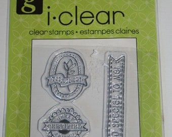 So Special to Me Clear Mount Rubber Stamp Set From Studio G