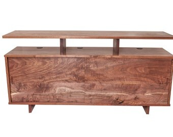 Black Walnut Media Cabinet